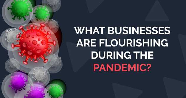 What businesses are flourishing during the pandemic?