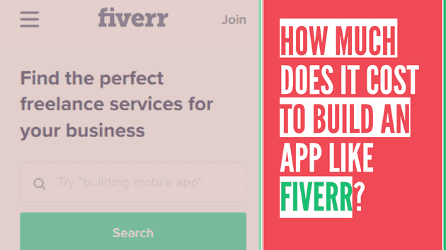 How much does it cost to build an app like Fiverr?